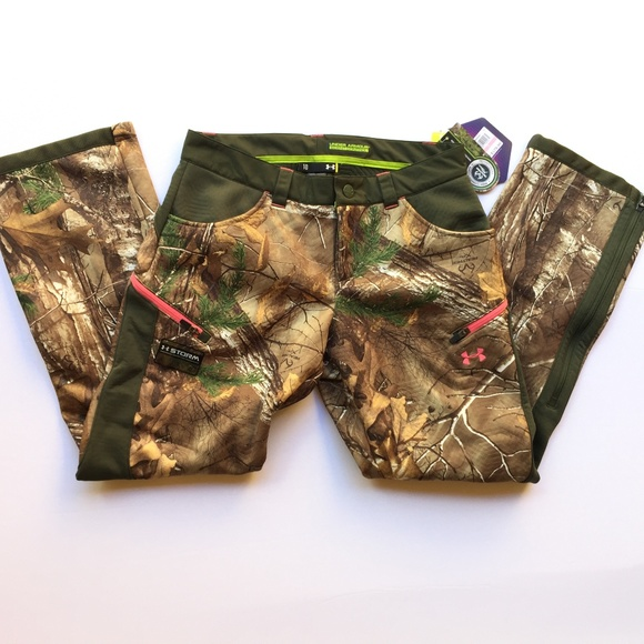 26b6a5937af82 Under Armour Pants | Ua Coldgear Infrared Speed Freek Pant Realtree ...